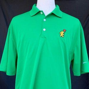 Nike Dri-Fit Polo Shirt w/unique Golden Bear logo